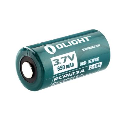 RCR123A可充锂电池 650mAh(常规)